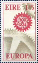 [EUROPA Stamps, Typ BX1]