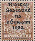 [Great Britain Stamps Overprinted in Bluish Black or Red - Overprint 14½ x 16mm, type C11]