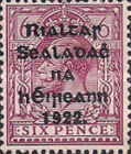[Great Britain Stamps Overprinted in Bluish Black or Red - Overprint 14½ x 16mm, type C12]