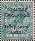 [Great Britain Stamps Overprinted in Bluish Black or Red - Overprint 14½ x 16mm, type C14]
