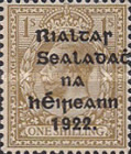 [Great Britain Stamps Overprinted in Bluish Black or Red - Overprint 14½ x 16mm, type C15]