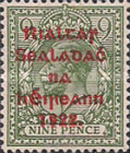 [Great Britain Stamps Overprinted in Red by A. Thom & Co. - Overprint 14½ x 16mm, Typ C16]