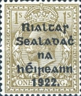[Great Britain Stamps Overprinted in Black - Overprint 14½ x 16mm, type C3]