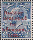 [Great Britain Stamps Overprinted in Bluish Black or Red - Overprint 14½ x 16mm, Typ C8]