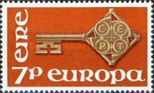 [EUROPA Stamps, type CE]