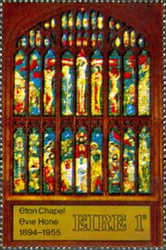 [Evie Hone's Stained Glass Window, type CQ]