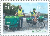 [EUROPA Stamps - Postal Vehicles, type DOH]