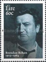 [The 50th Anniversary of the Death of Brendan Behan, 1923 –1964, type DPK]