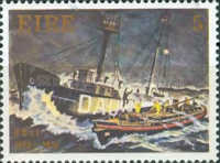 [The 150th Anniversary of the Lifeboatmen, type DR]