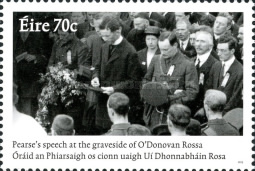 [The 100th Anniversary of Pádraig Pearse's Speach at the Graveside of Jeremiah O'Donovan Rossa, 1831-1915, type DRN]