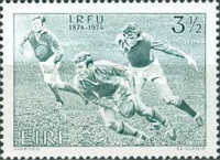 [The 100th Anniversary of the Irish Rugby Football Union, type DV]