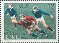 [The 100th Anniversary of the Irish Rugby Football Union, type DV1]