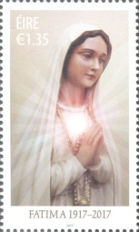[The 100th Anniversary of the Apparitions of Fatima, type DVA]