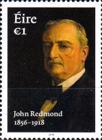 [The 100th Anniversary of the Death of John Redmond, 1856-1918, type DVL]