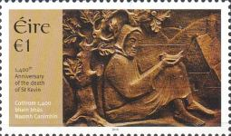 [The 1400th Anniversary of the Death of Saint Kevin, 498-618, type DVS]