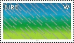 [A Stamp for Ireland, Typ DWX]