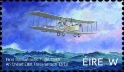 [The 100th Anniversary of the First Transatlantic Flight, type DXH]