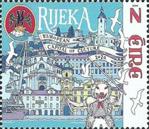 [European Capitals of Culture - Joint Issue with Croatia, type DYL]