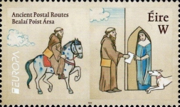 [EUROPA Stamps - Ancient Postal Routes, type DYZ]