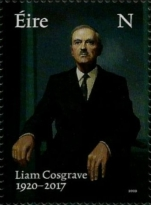 [The 100th Anniversary of the Birth of Liam Cosgrave, 1920-2017, type DZA]