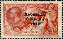 [Great Britain Stamps Overprinted, type E16]