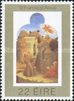 [The 800th Anniversary of the Holy Frans of Assisi, type HZ]