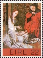 [Christmas Stamps, type JX]