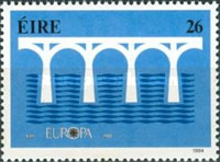 [EUROPA Stamps - Bridges - The 25th Anniversary of CEPT, type KJ]
