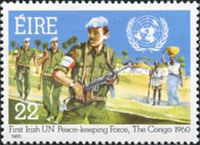 [The 25th Anniversary of the First Irish UN Forces, type LK]