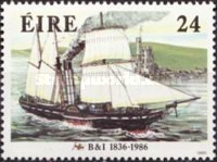 [The 150th Anniversary of British - Irish Steamships, type MK]