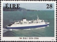 [The 150th Anniversary of British - Irish Steamships, type ML]