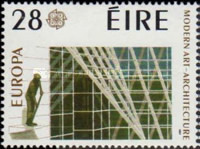 [EUROPA Stamps - Modern Architechture, type NG]