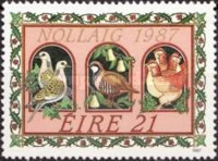 [Christmas Stamps, type NU]