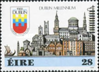 [The 1000th Anniversary of the City of Dublin, type NZ]
