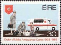 [The 50th Anniversary of the Ambulance Services, type OE]