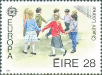 [EUROPA Stamps - Children's Games, Typ PK]