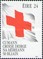 [The 50th Anniversary of the Irish Red Cross, Typ PN]