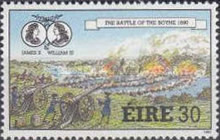 [The 300th Anniversary of the Battle at Boyne and Limerick, Typ QR]