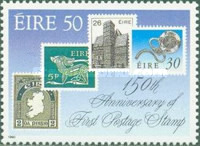 [The 150th Anniversary of the First Stamp, type QY]