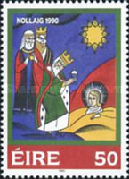 [Christmas Stamps, Typ RS]