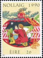 [Christmas Stamp, type RT]