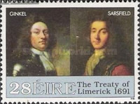 [The 300th Anniversary of the Occupation of Athlone and the Peace Agreement at Limerick, Typ SJ]
