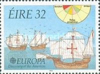 [EUROPA Stamps - Voyages of Discovery in America, type TM]