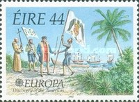 [EUROPA Stamps - Voyages of Discovery in America, type TN]
