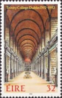 [The 400th Anniversary of the Trinity College, type TU]