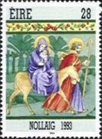 [Christmas Stamp, Typ VI]