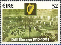 [The 75th Anniversary of The Irish Parliament and The Election for the EEC, Typ VT]