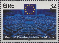 [The 75th Anniversary of The Irish Parliament and The Election for the EEC, Typ VU]