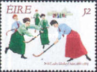 [The 100th Anniversary of the Irish Womens' Hockey Union, Typ WA]