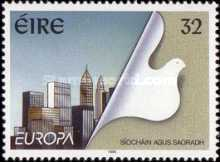[EUROPA Stamps - Peace and Freedom, Typ XA]